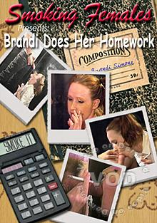 Brandi Does Her Homework Box Cover
