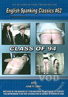 English Spanking Classics #62 - Class Of 94 Box Cover