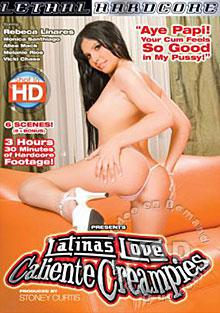 Latinas Love Caliente Creampies Box Cover
