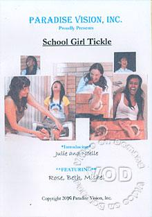 School Girl Tickle Box Cover