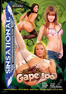New Girls Gape Too Box Cover