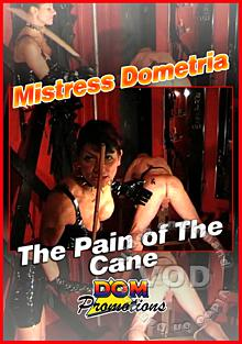 Mistress Dometria - The Pain Of The Cane Box Cover