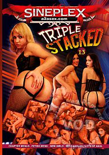 Triple Stacked 13 Box Cover