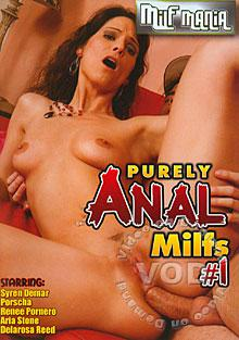 Purely Anal MILFs #1 Box Cover