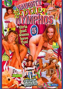 Naughty Little Nymphos 5 Box Cover