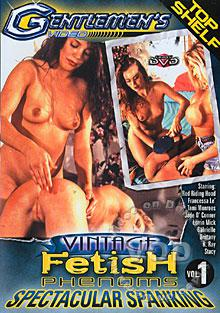 Vintage Fetish Phenoms - Spectacular Spanking 1 Box Cover