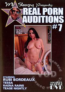 Mr. Sleazy Presents Real Porn Auditions #7 Box Cover