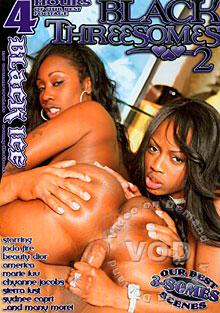 Black Threesomes 2 Box Cover