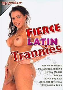 Fierce Latin Trannies Box Cover