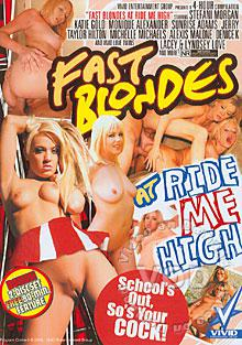 Fast Blondes At Ride Me High Box Cover