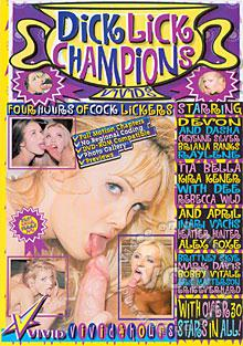 Dick Lick Champions Box Cover