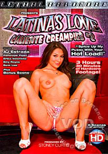 Latinas Love Caliente Creampies #2 Box Cover