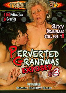 Perverted Grandmas Exposed #3 Box Cover