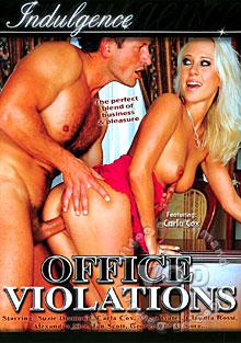 Office Violations Box Cover