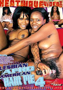 Lesbian Afro American Hair Pie 4 Box Cover