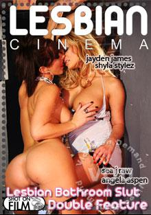 Lesbian Bathroom Slut Double Feature Box Cover