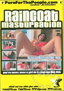 Raincoat Masturbation Box Cover