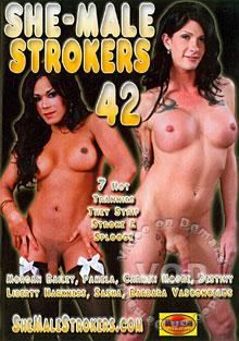 She-Male Strokers 42 Box Cover