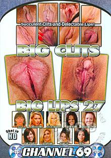 Big Clits Big Lips 27 Box Cover
