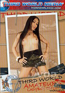 Third World Amateurs In Thailand - Lady Boy Edition Box Cover