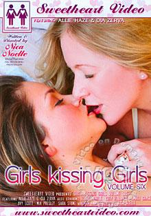 Girls Kissing Girls Volume Six Box Cover