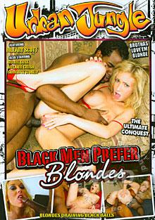 Black Men Prefer Blondes Box Cover