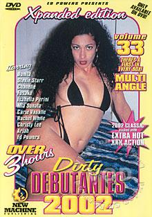 Dirty Debutantes 2002  Volume 33 Box Cover