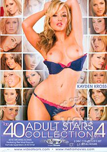 Top 40 Adult Stars Collection Vol. 4 (Disc 1)