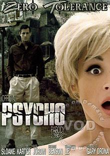 Official Psycho Parody Box Cover