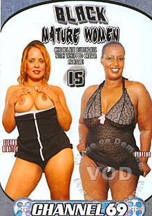 Black Mature Women 15 Box Cover