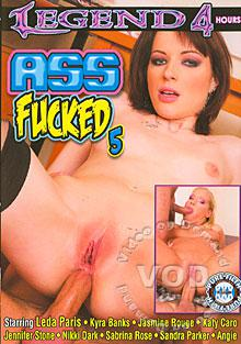 Ass Fucked 5 Box Cover