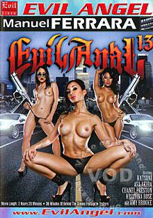 Evil Anal 13 Box Cover