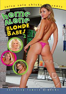 Home Alone Blonde Babes 2 Box Cover
