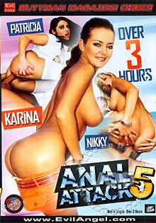 Anal Attack 5 Box Cover