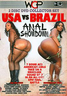 USA vs. Brazil - Anal Showdown (Disc 2) Box Cover