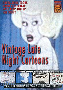 Vintage Late Night Cartoons Box Cover