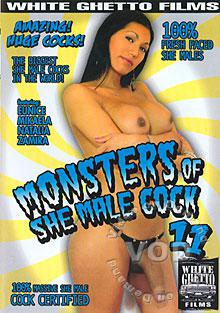 Monsters Of She Male Cock 11 Box Cover