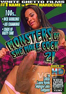 Monsters Of She Male Cock 21 Box Cover