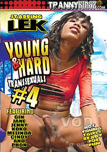 Young & Hard Transsexuals #4 Box Cover