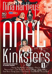 Nina Hartley's Anal Kinksters 1 Box Cover