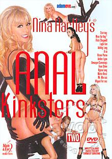 Nina Hartley's Anal Kinksters 2 Box Cover