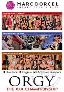 Orgy: The XXX Championship Box Cover - Login to see Back
