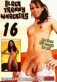 Black Tranny Whackers 16 Box Cover