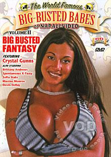 Big-Busted Babes Of Napali Video 2 - Big Busted Fantasy Box Cover