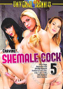 Craving Shemale Cock 5 Box Cover