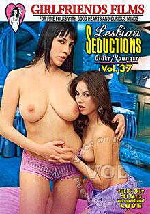 Lesbian Seductions Older/Younger Vol. 37 Box Cover