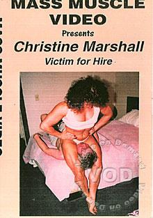 MM373: Christine Marshall - Victim For Hire Box Cover