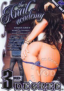The Anal Academy (Disc 1) Box Cover - Login to see Back