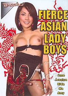 Fierce Asian Lady Boys