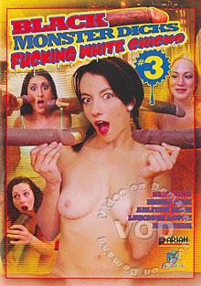 Black Monster Dicks Fucking White Chicks #3 Box Cover